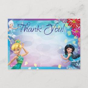 Tinker Bell Thank You Invitations