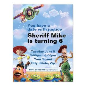 Toy Story Birthday Invitation
