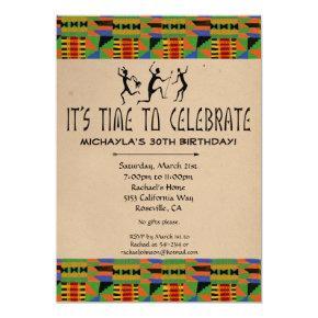 tribal safari birthday invitations candied clouds