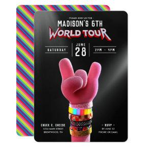 Trolls World Tour - Poppy Birthday Invitation