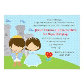 Twins Birthday  (Prince & Princess)