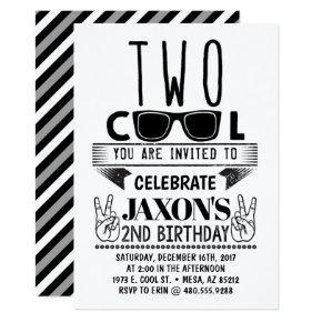 Two Cool Birthday Invitation