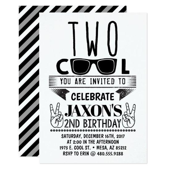 Two Cool Birthday Invitation Candied Clouds