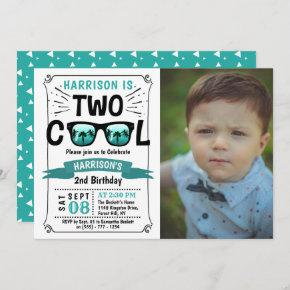 Two Cool Boys Photo 2nd Birthday
