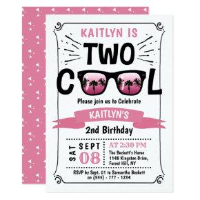Two Cool Girls 2nd Birthday