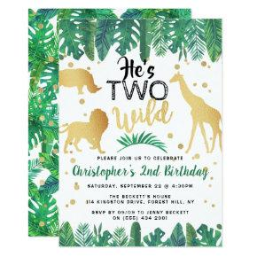 Two Wild Boys Second Birthday Party