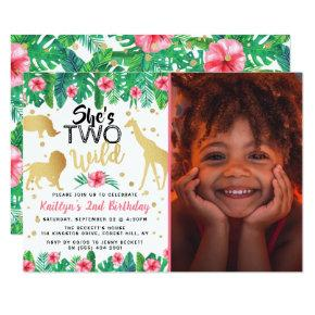 Two Wild Girls Photo Second Birthday