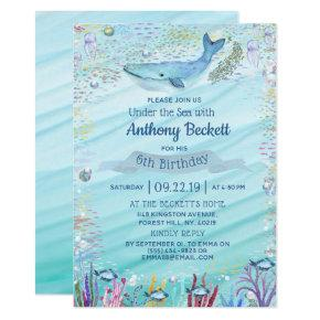 Under The Sea Any Age Birthday
