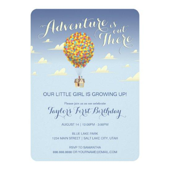 UP Birthday | Adventure is Out There