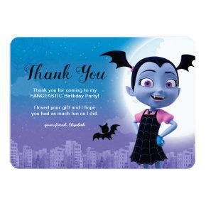 Vampirina Birthday | Thank You Card