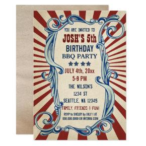 Vintage 4th Of July Birthday Party