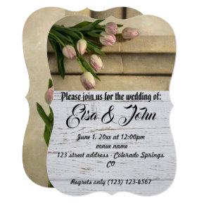 Wedding Blossoms Romantic Destiny's Destiny Invitation