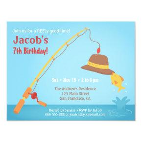 Whimsical Fishing Birthday Party