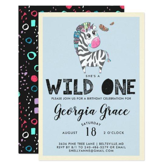Wild One Party Invitations