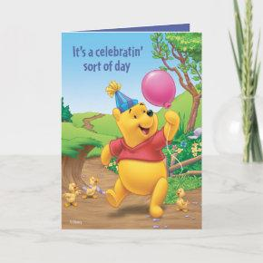 Winnie Pooh | Celebrating Invitation