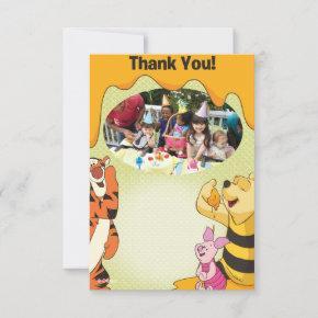 Winnie the Pooh Birthday Thank You