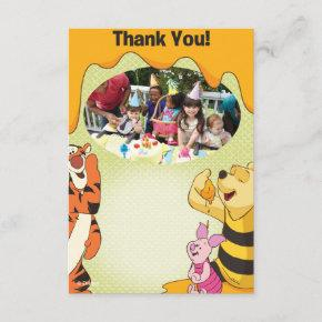 Winnie the Pooh Birthday Thank You