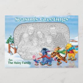 Winnie the Pooh & Friends: Season's Greetings Invitations