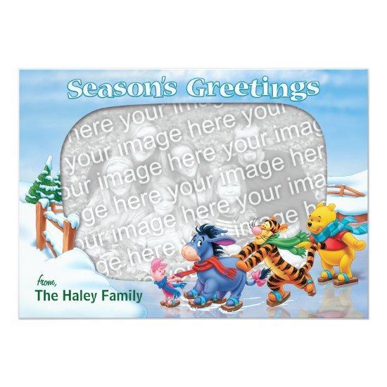 Winnie the Pooh & Friends: Season's Greetings Invitations