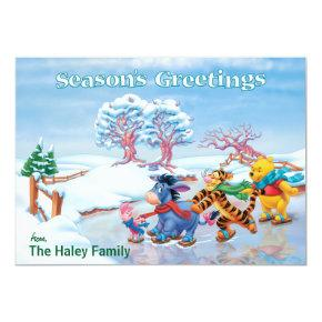 Winnie the Pooh & Friends: Season's Greetings Card