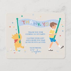 Winnie the Pooh | Happy Birthday Thank You Invitations
