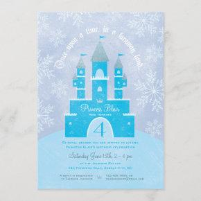 Winter Wonderland Princess Party