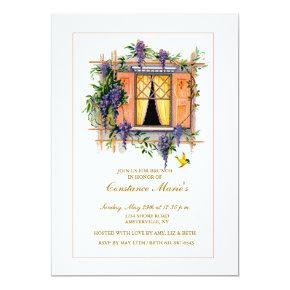 Wisteria Trellis Invitation