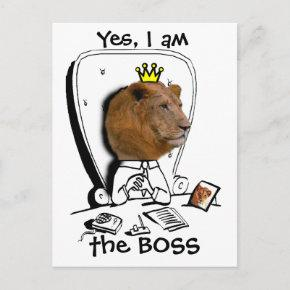 Yes, I am the BOSS Post
