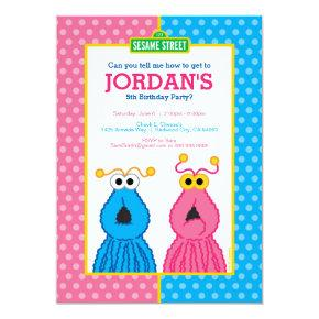 Yip-Yips Birthday Invitation