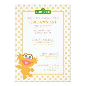 Zoe Baby Birthday Invitations