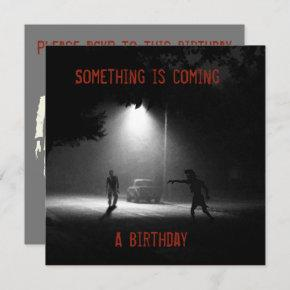 ZOMBIE BIRTHDAY PARTY INVITATION by Jetpackcorps